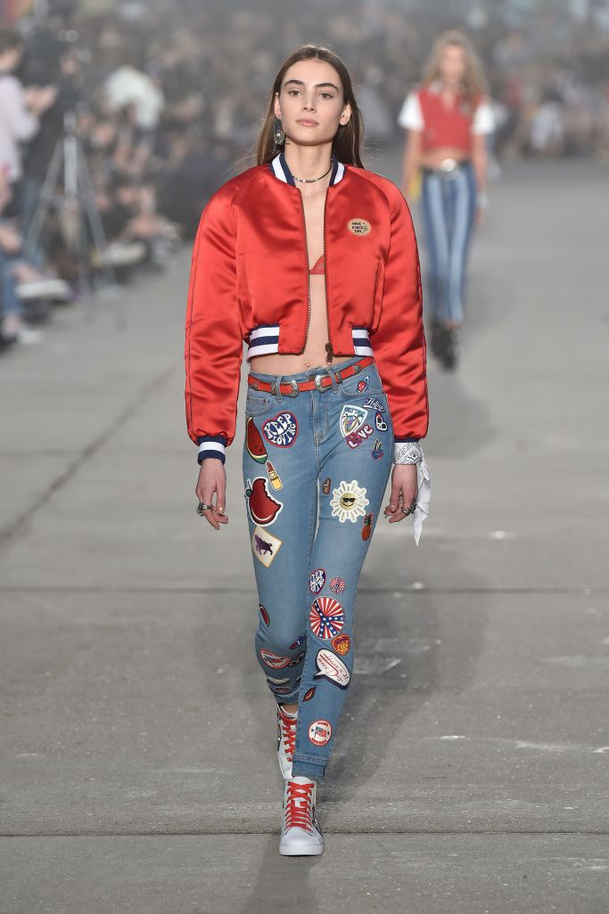 7ce380af7bb0 Tommy Hilfiger Spring 2017 Women s Collection featuring the TommyxGigi  Collection
